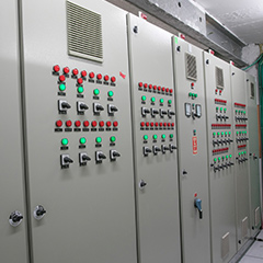 Designing and manufacturing plant for electrical panel, HVAC and control systems